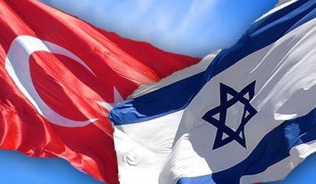 Actualités au Moyen Orient Drapeaux-turquie-israel