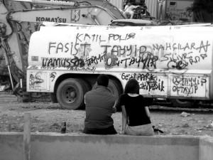source : Pierre Pandelé, Place Taksim, 14 juin 2013.