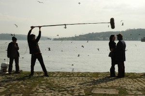 Tournage d'une série TV à Beykoz, 2012 - photo Julien Paris